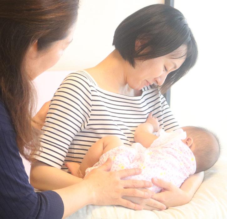 お母さまと赤ちゃんのからだケア